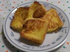 豆乳入りフレンチトースト