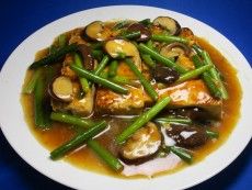豆腐のとりがらオイスター(牡蠣味)炒め煮