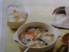 みそ豆乳スープ(生活クラブカタログ4週掲載分)